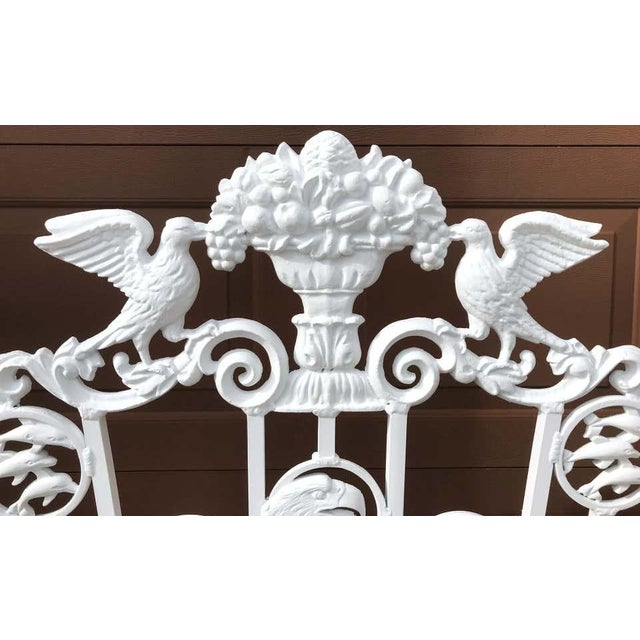 Presidential Wrought Iron Firescreen, Truman Little White House, Key West, Fl For Sale - Image 4 of 12