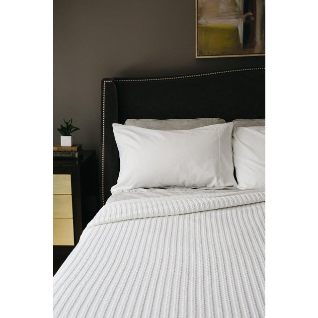 """100% Cotton King: 108""""x96"""" Soft yet rugged. The perfect weight for any climate. A good reason to stay in bed a bit longer...."""