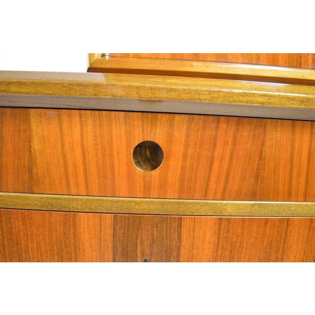 Mid 20th Century Edmund Spence Credenza Breakfront For Sale - Image 5 of 9