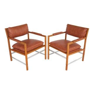 "Edward Wormley for Dunbar ""Edward's Chair"" - A Pair"