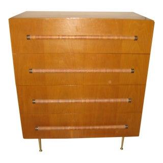 1950's T. H. Robjohns Gibbings Widdicomb 4 Drawer Dresser
