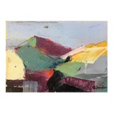 Image of Field #4 Acrylic Painting For Sale