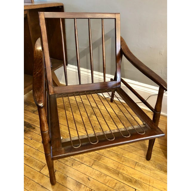 Mid Century Italian Lounge Chair 1960's For Sale In Boston - Image 6 of 9