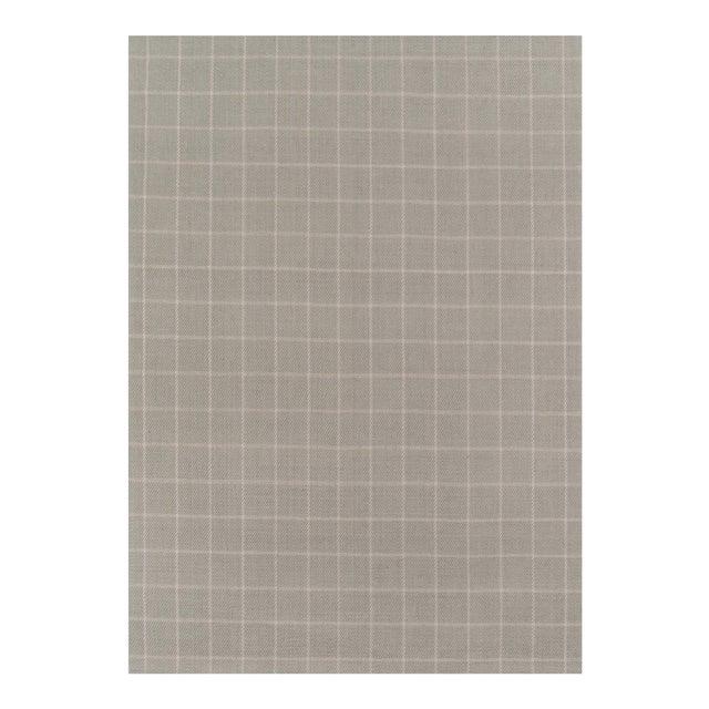 Erin Gates by Momeni Marlborough Deerfield Grey Hand Woven Wool Area Rug - 8′ × 10′ For Sale