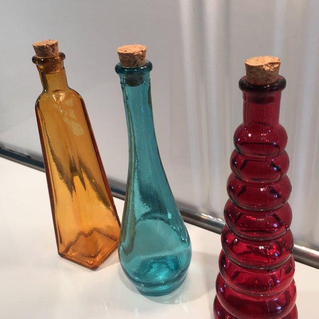 Vintage Glass Bottles - Set of 3 - Image 5 of 5