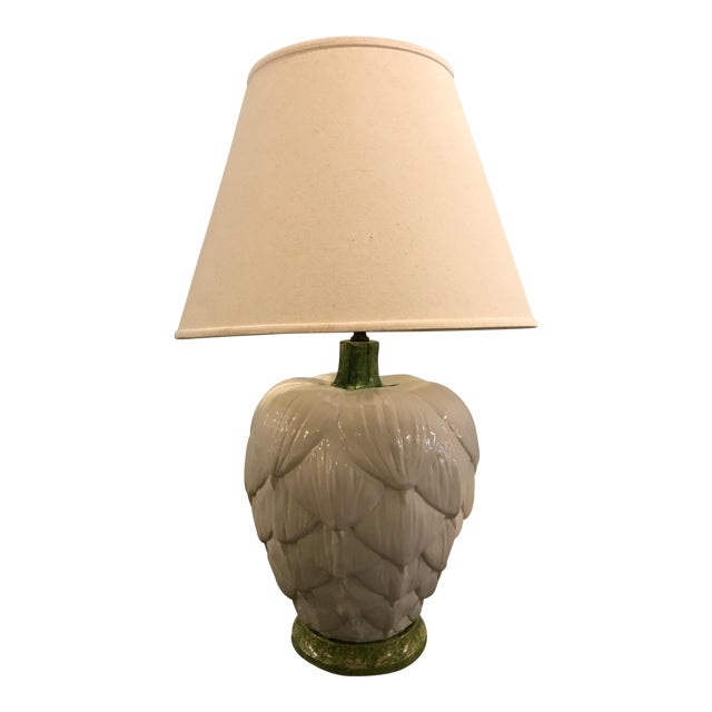 1960's Ceramic Artichoke Lamp - Image 1 of 11
