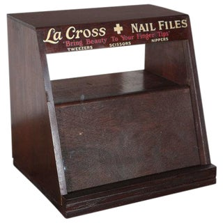 La Cross Display and Inventory Cabinet For Sale
