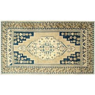 "Nalbandian - 1960s Turkish Oushak Carpet - 7'6"" X 13'3"" For Sale"