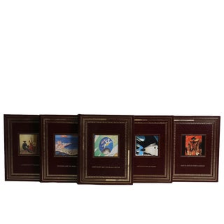 Easton Press World Art History Leather Book Set, S/13 For Sale