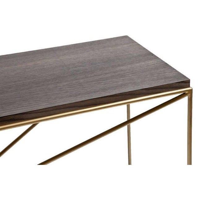 Modern Customizable Robert Console Table For Sale - Image 3 of 4