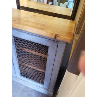 1920s French Blue Two Door Cabinet Preview