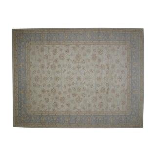 "Hand-Woven Khotan Carpet - 9' x 11'10"" For Sale"