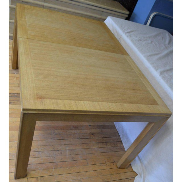 Maple Dining Table With Two Leaves Designed by Robsjohn-Gibbings for Widdicomb For Sale - Image 7 of 13