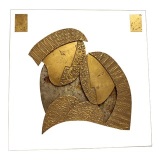 Modern Wall Sculpture by David Marshall For Sale