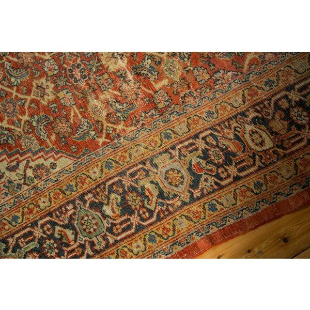 """Antique Mahal Square Carpet - 9'11"""" x 9'8"""" - Image 8 of 10"""