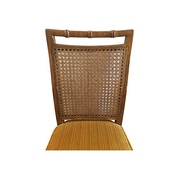 Heritage Faux Bamboo Dining Chairs - Set of 6 - Image 3 of 8