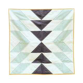 Slow Coast Crib Quilt in Morning