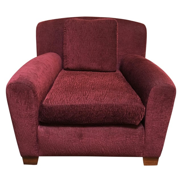 Pair of Custom Donghia Upholstered Armchair - Image 1 of 7