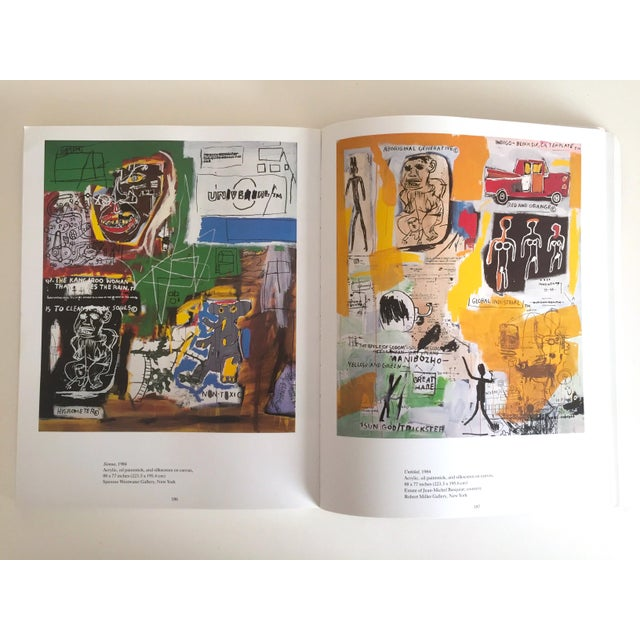 1990s Jean Michel Basquiat Rare 1st Edtn Vintage 1992 Iconic Whitney Retrospective Exhibition Collector's Hardcover Art Book For Sale - Image 5 of 13