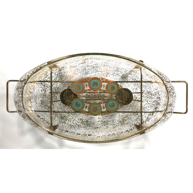 1960s Mid-Century Modern Glass Chafing Dish For Sale In Philadelphia - Image 6 of 6