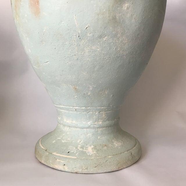 Pale Blue Pottery Planter - Image 7 of 8