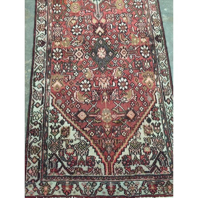 Hamadan Persian Rug - 2′11″ × 9′5″ - Image 5 of 8