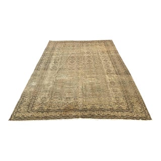 Oversized Oushak Area Rug For Sale
