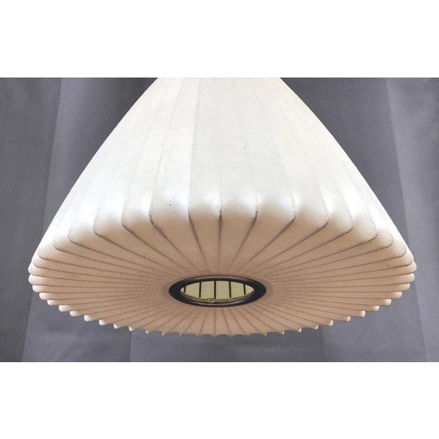 Vintage George Nelson for Howard Miller Bell Pendant Lamp For Sale In San Francisco - Image 6 of 10