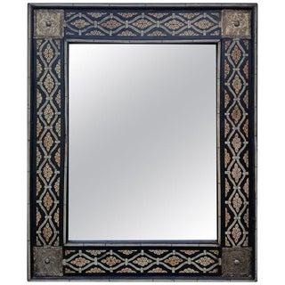 Moroccan Mamoun Bone Mirror - Marrakech For Sale