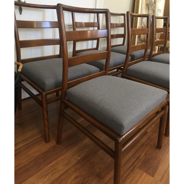 Robsjohn Gibbings for Widdicomb Dining Chairs- Set of 6 - Image 11 of 11