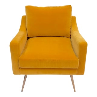Mid-Century Style Accent Chair For Sale