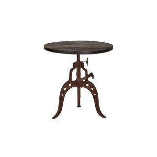 Contemporary Bruno Iron Crank Coffee Table