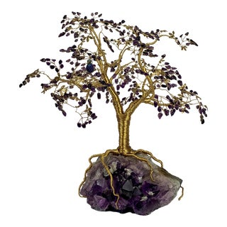 Amethyst Good Fortune Tree For Sale