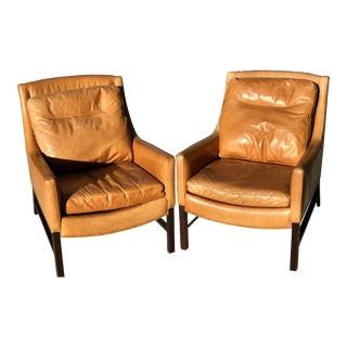 Modern Clean Rustic Chairs- a Pair For Sale
