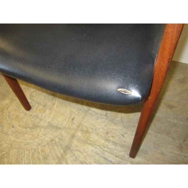 Jens Risom Mid Century Side Arm Chair Pair - Image 9 of 9