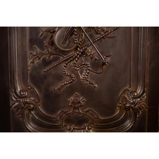 Antique Neoclassical Carved Doors - Set of 4 - Image 6 of 11