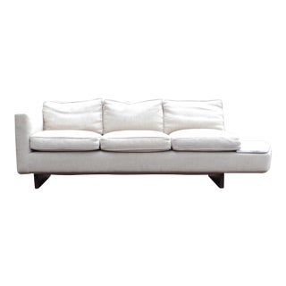 Mid-Century Modern Marble Platform Sofa