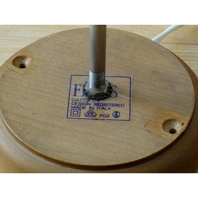 """Original Achille & Pier Giacomo Castiglioni """"Gatto"""" Table Lamp - Image 7 of 11"""