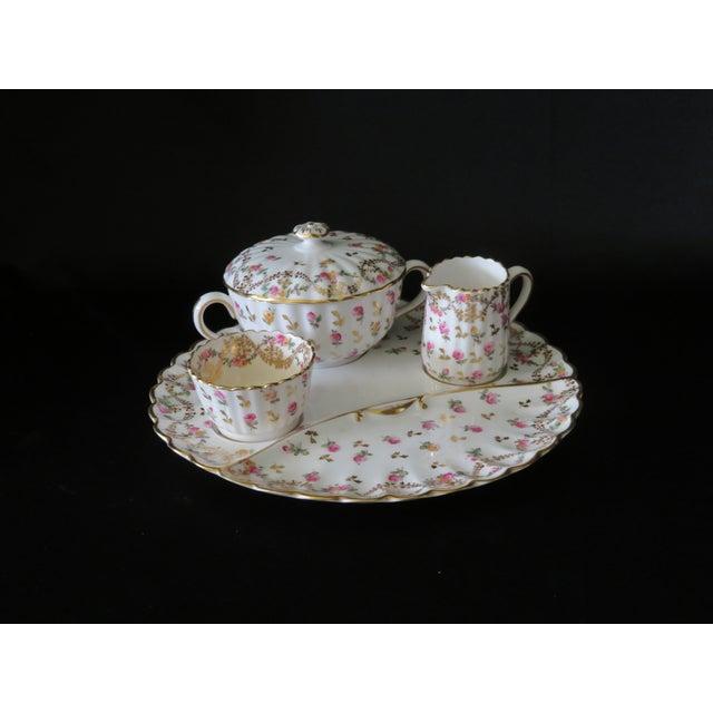 Ceramic Vintage Antique Spode Copeland Stoke-Upon-Trent England Tiffany and Co. Company Tea Set For Sale - Image 7 of 7