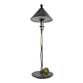 1980s Vintage Robert Sonneman George Kovacs Post Modern Table Lamp For Sale