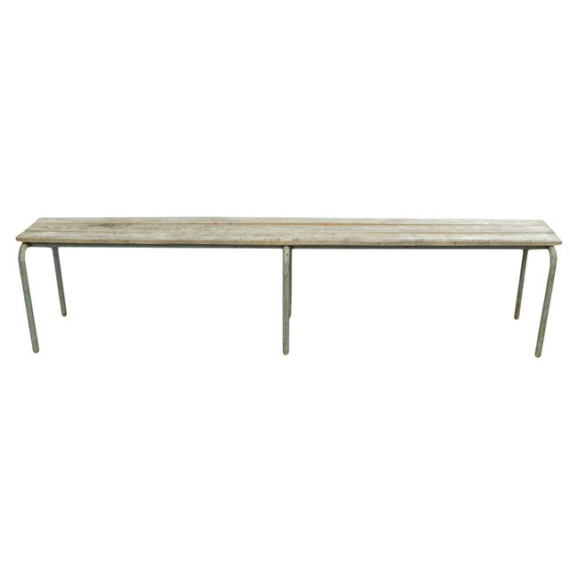Pair of Swedish Industrial Benches For Sale In New York - Image 6 of 13