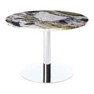 Tom Dixon Circle Chrome Flash Table For Sale