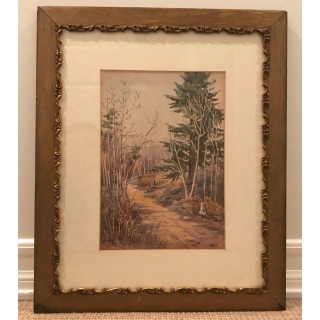 Mid 20th Century Original Vintage Landscape Painting Signed c.a. Howard For Sale - Image 5 of 5