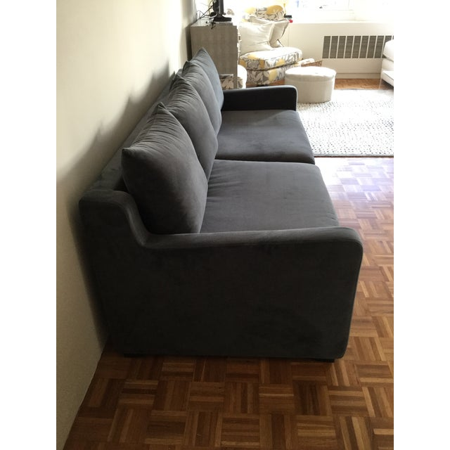 Gus* Modern Flipside Velvet Sofa For Sale In Boston - Image 6 of 10