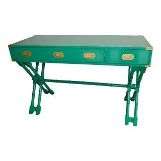 Emerald Green Bombay Campaign Desk