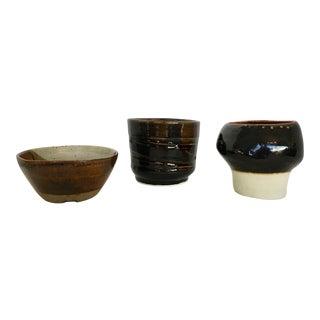 Three Signed Studio Pottery Pieces