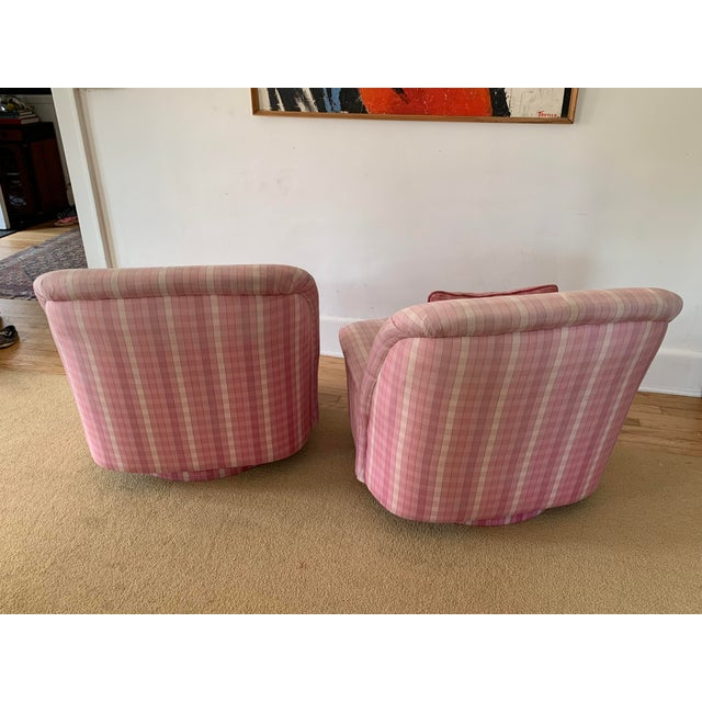 Modern Directional Furniture Clamshell Chair - A Pair For Sale - Image 3 of 9