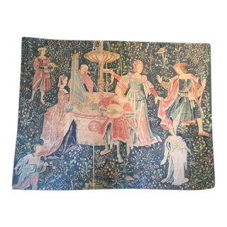 Scene De Musique Aubusson Rambouillet Tapestry