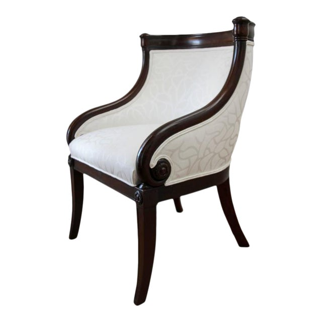 Empire Tub Chair, France 19th Century For Sale