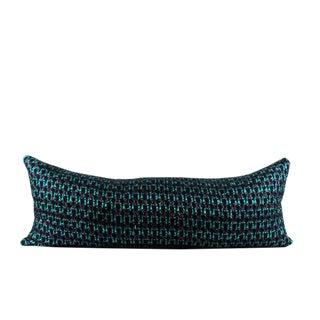 Boucle Woven Texture Lumbar Pillow For Sale
